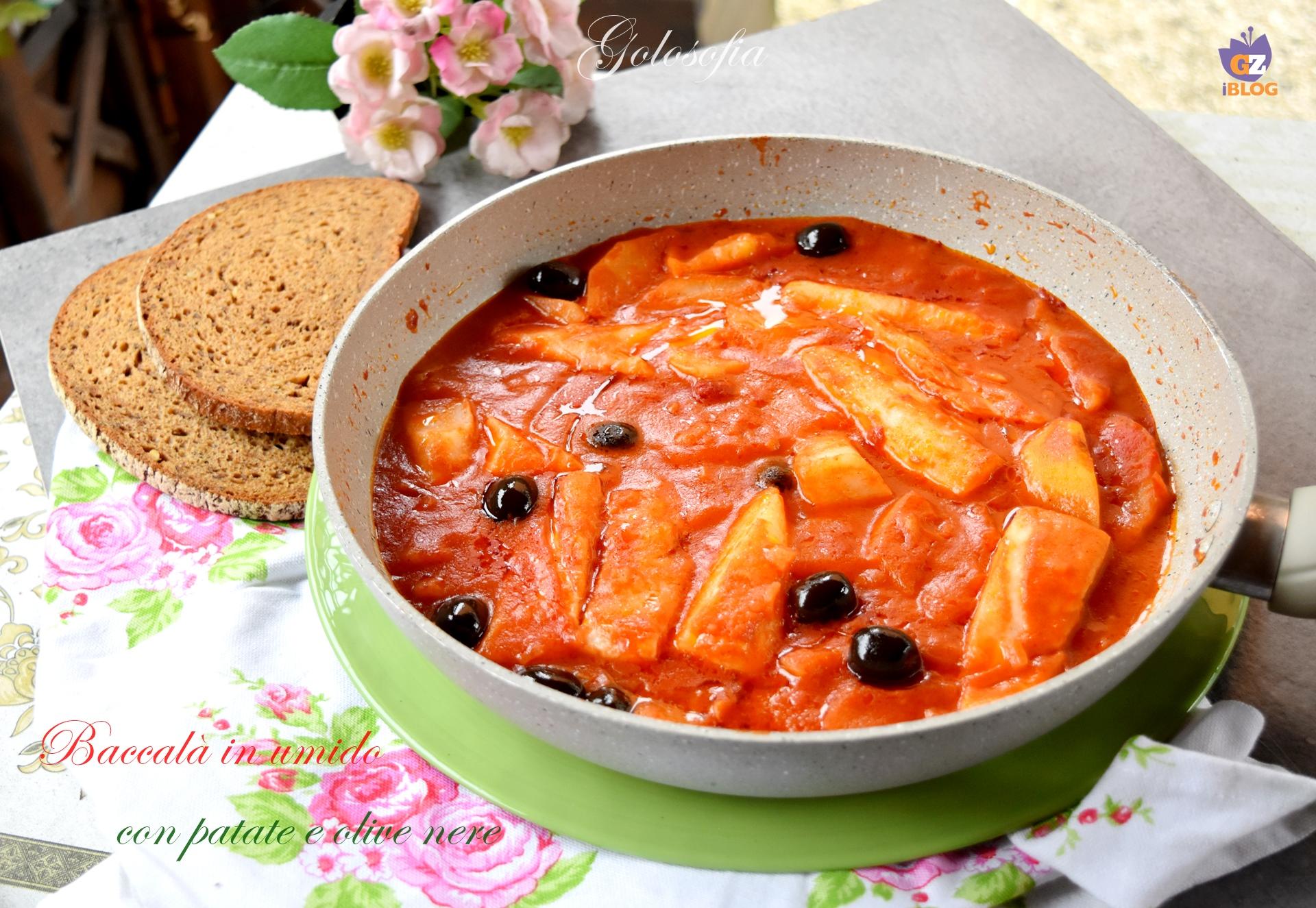 Baccalà in Umido con Patate e Olive Nere, Veloce e Squisito!