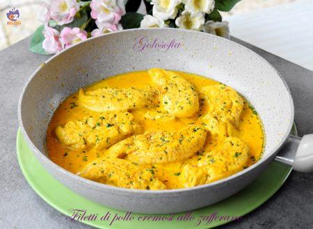 Filetti di pollo cremosi allo zafferano, semplici e squisiti!