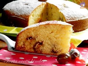 Torta con ovetti kinder-ricetta torte-golosofia