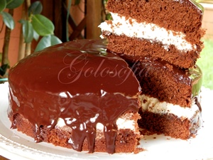 Torta kinder pinguì-ricetta torte-golosofia
