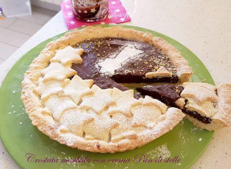 Crostata morbida con crema Pan di stelle, semplice e golosissima!