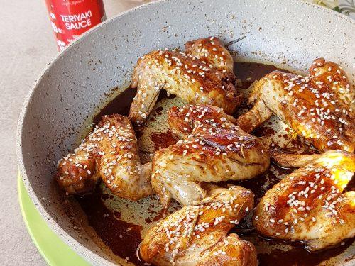 Alette di pollo in salsa Teriyaki, ricetta buonissima in padella