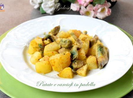 Patate e carciofi in padella, ricetta semplice e gustosa