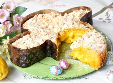 Colomba soffice con crema al limone, favolosa e senza lievitazione!