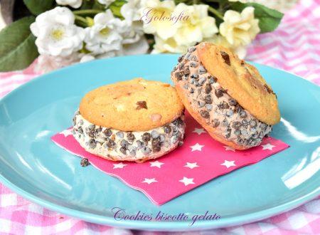 Cookies biscotto gelato, velocissimo e super goloso!