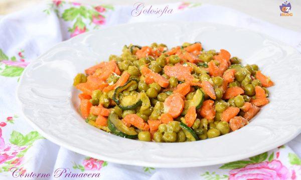 Contorno Primavera, ricetta buonissima, sana e veloce