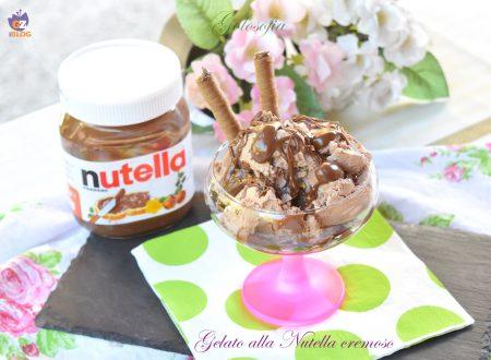 Gelato alla Nutella cremoso, buonissimo e senza gelatiera!