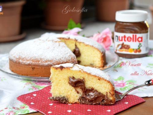 Torta 7 vasetti alla Nutella, golosissima, senza burro e senza bilancia!