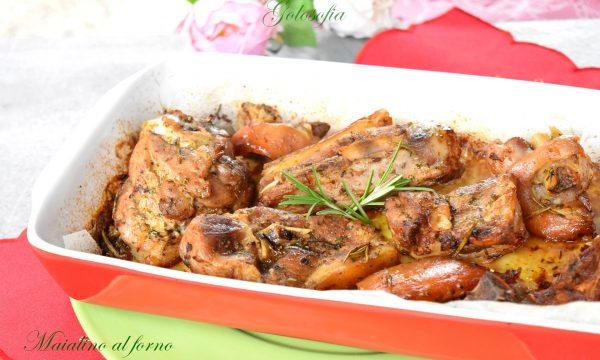 Maialino al forno, ricetta tradizionale semplice e squisita!
