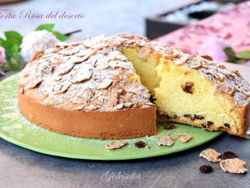 Torta Rosa del deserto, soffice e golosa per una super colazione!