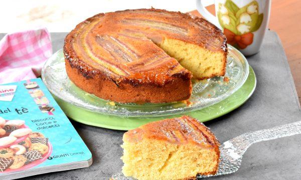 Torta rovesciata di banane con yogurt e miele, semplice e buonissima!