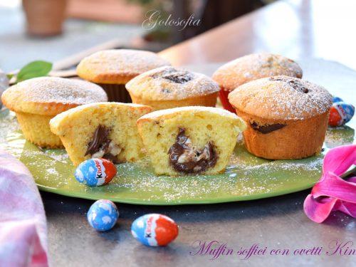 Muffin soffici con ovetti Kinder, semplicemente buonissimi!