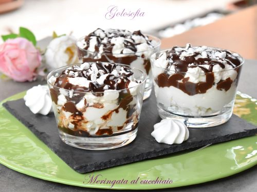 Meringata al cucchiaio, veloce e golosissimo dessert!