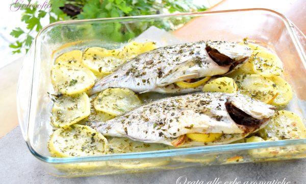 Orata alle erbe aromatiche, ricetta gustosa e leggera