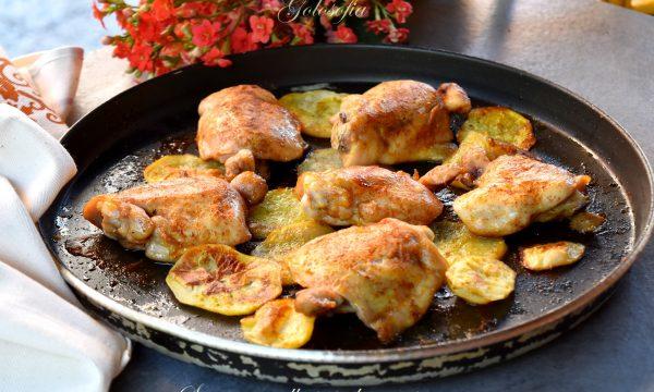 Sovracosce alla paprika con patate, cottura al Crisp senza grassi
