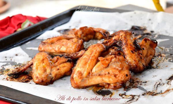 Ali di pollo in salsa barbecue, ricetta veloce e fantastica!