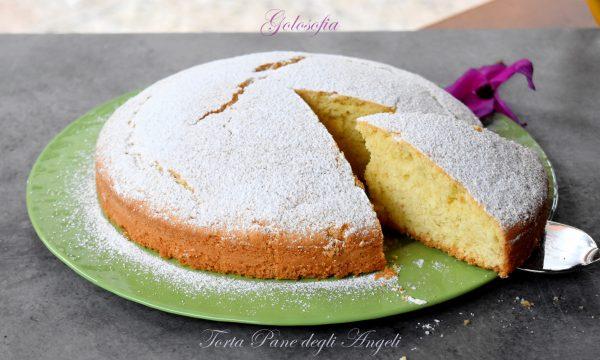 Torta Pane degli Angeli, ricetta soffice e delicata per la colazione