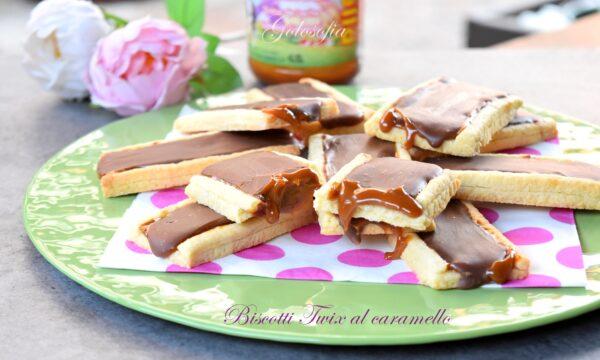 Biscotti Twix al caramello, ricetta semplice e super golosa!