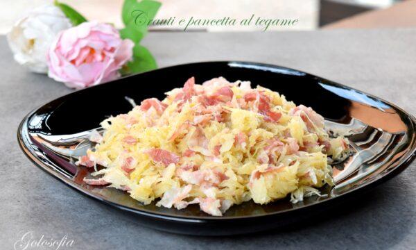 Crauti e pancetta al tegame, ricetta contorno saporito