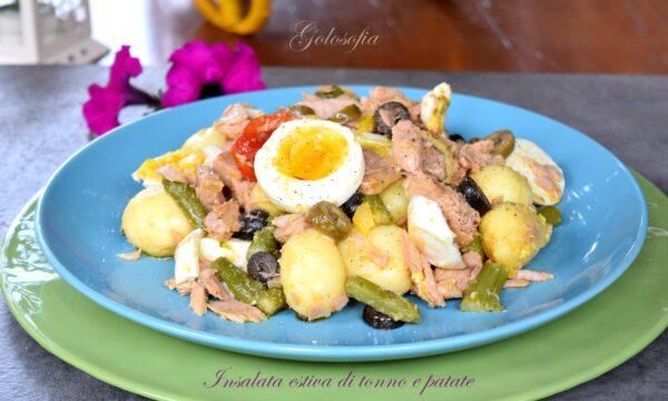 Insalata golosa di tonno e patate, ricetta semplice ricca di gusto!
