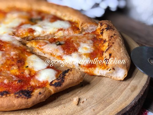 Pizza Margherita senza glutine e senza lattosio metodo Bonci