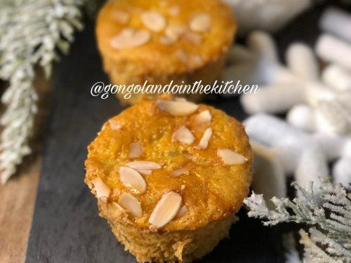 Muffin al profumo di panettone senza glutine e senza lattosio