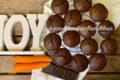 Bottoncini al cioccolato e carote senza glutine e senza lattosio
