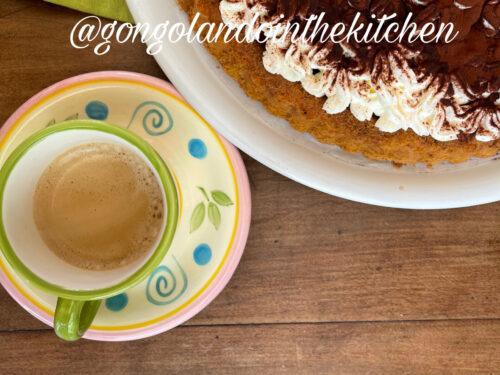 torta tiramisù senza glutine e senza lattosio