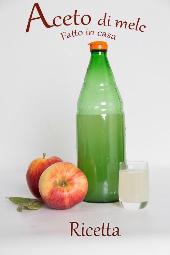 ricetta aceto di mele fatto in casa con gli scarti goodcook