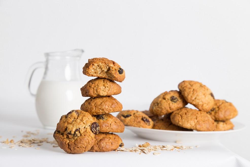 Ricetta biscotti ai fiocchi d'avena fatti in casa - buonissimi