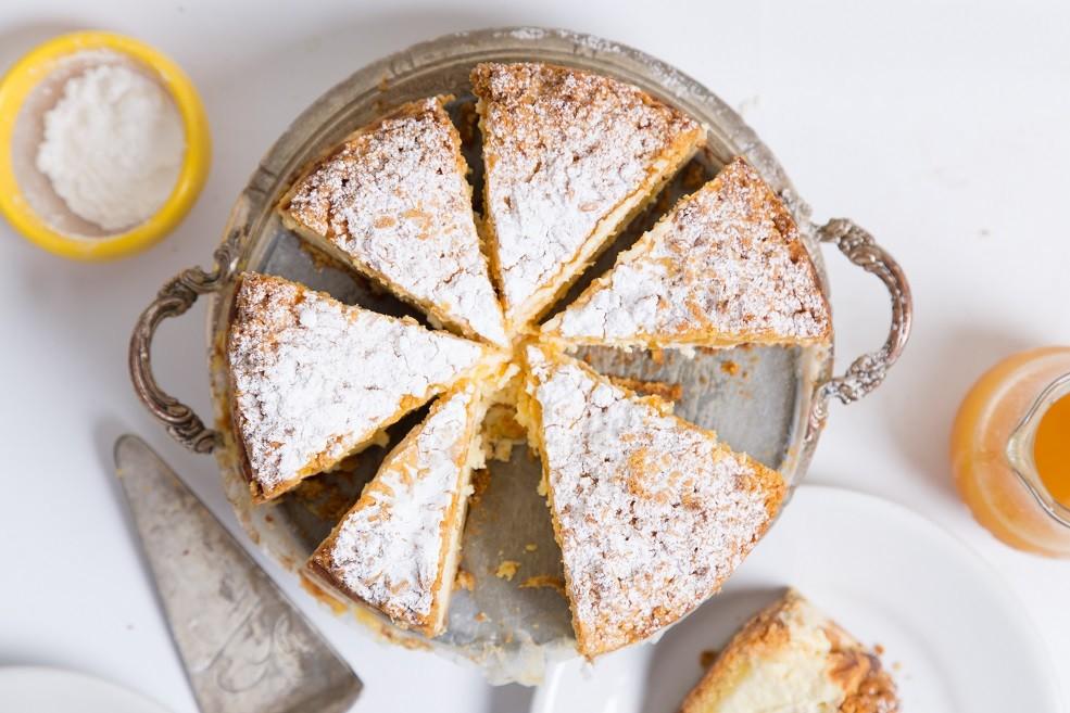 Ricetta Cheesecake con le Pesche Sciroppate - buonissimo