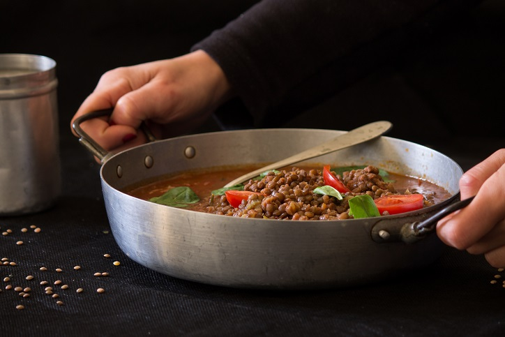 Ricetta salsicce e lenticchie in umido