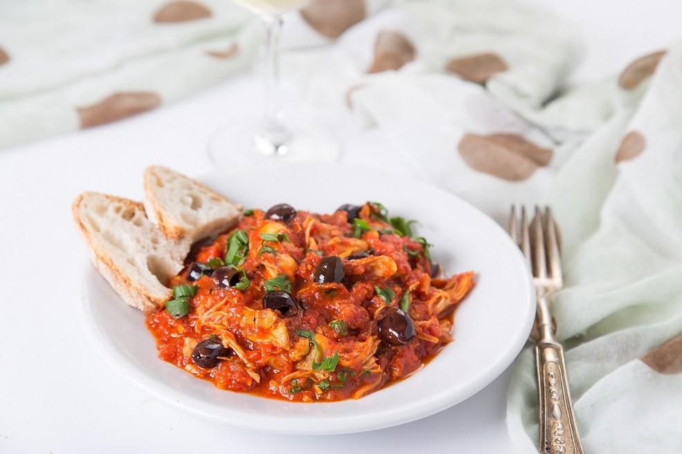 Ricetta Lesso Ripassato con Peperoni e Olive