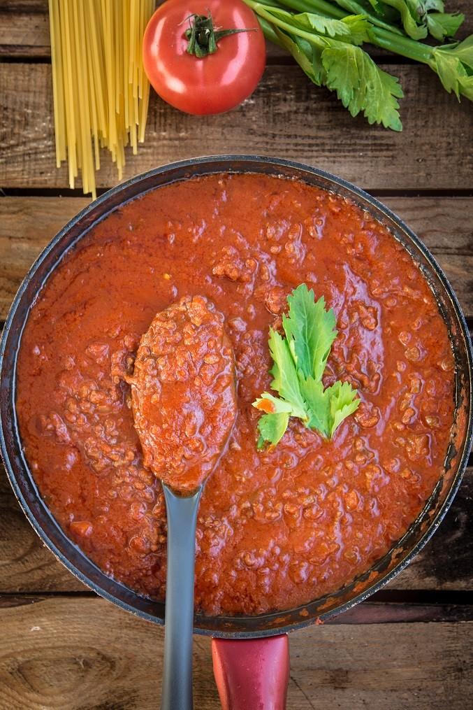 Ragù Bolognese Per Lasagne e Altri Usi Ricetta Base