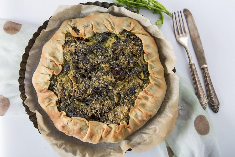 Ricetta Torta Rustica Broccoletti Salsiccia Patate