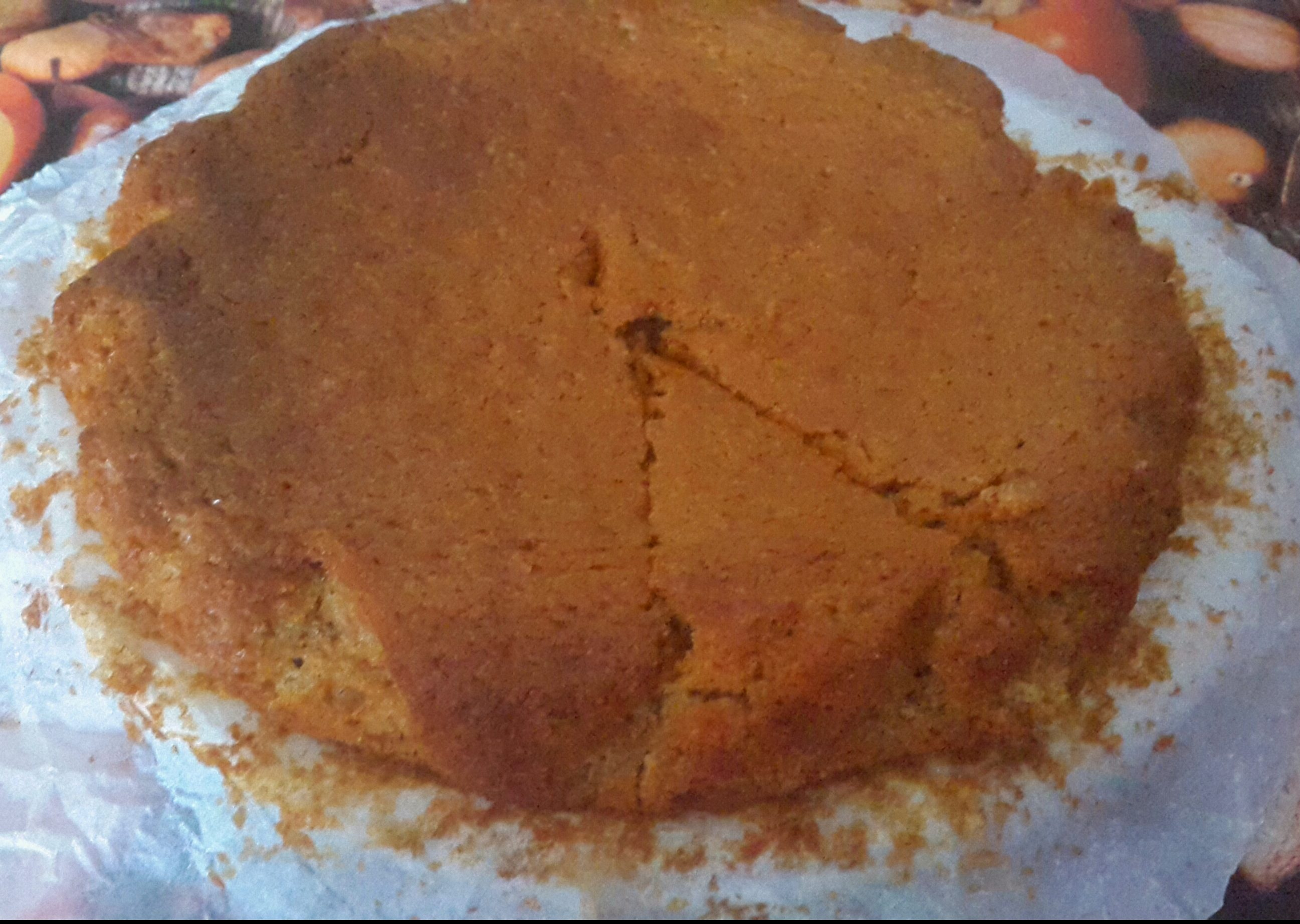 Torta all'arancia e zenzero -vegan-