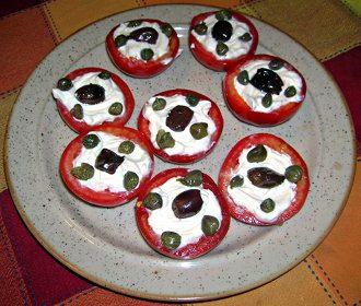 Pomodori con maionese – vegan-
