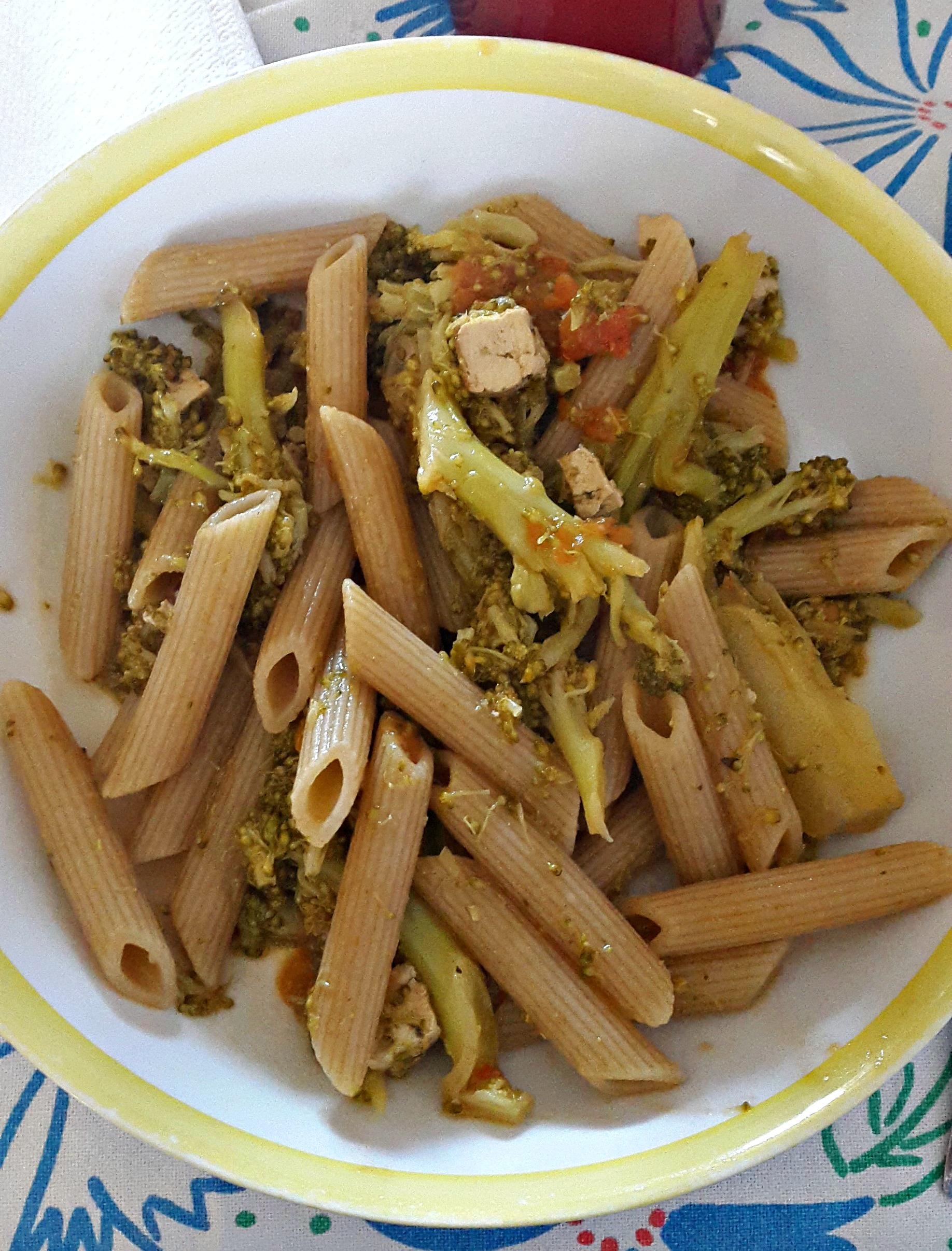 Eccezionale Pasta con broccoli e tofu affumicato -vegan- | Vegan Life GB61