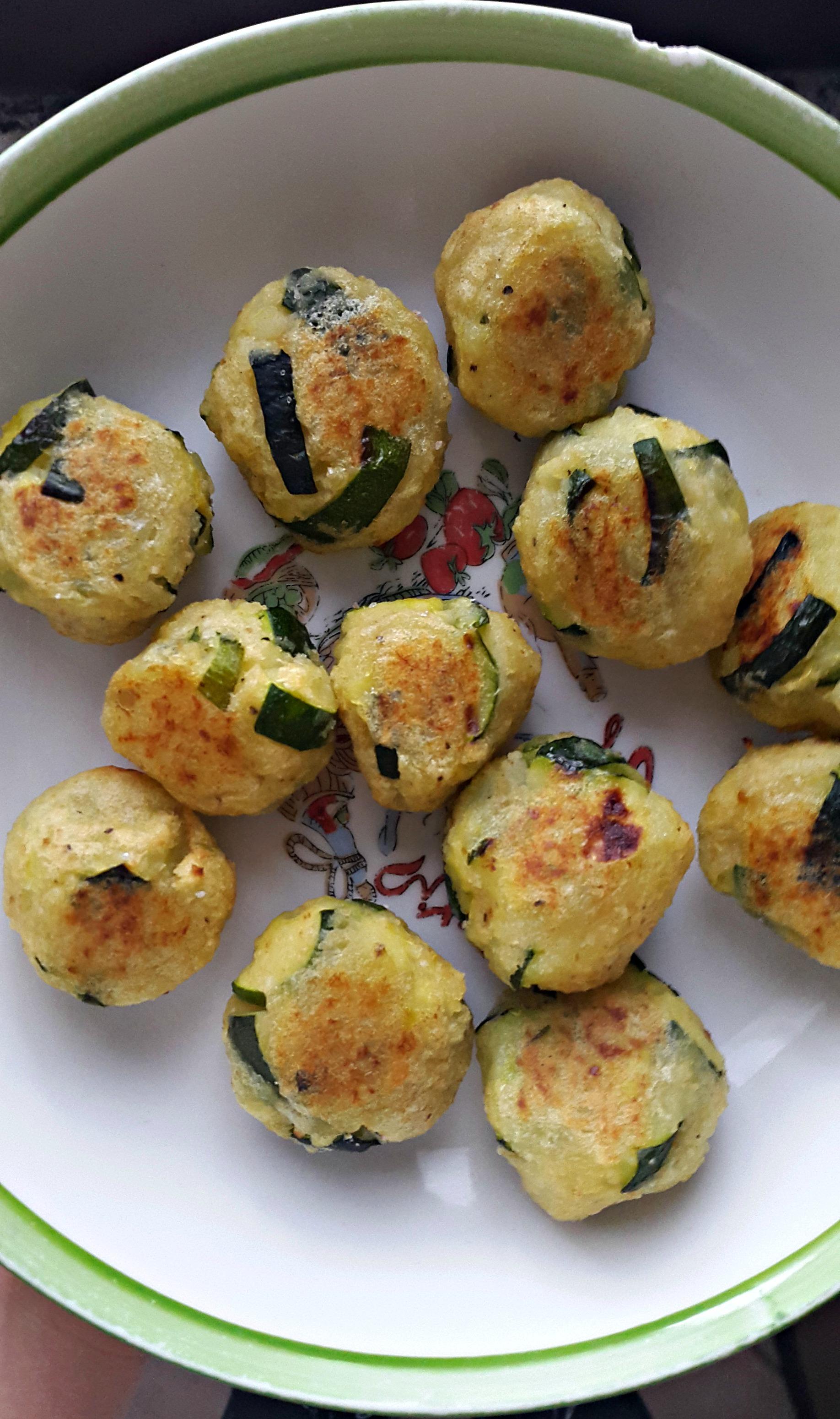 Polpette di patate e zucchine -vegan-
