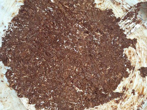 Tartufi al cocco e cacao -vegan-