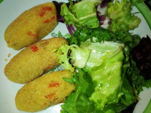 Crocchette di patate e peperoni -vegan-