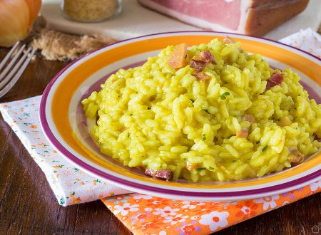 Risotto Speck e curry