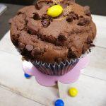 Muffins al cioccolato con cuore fondente
