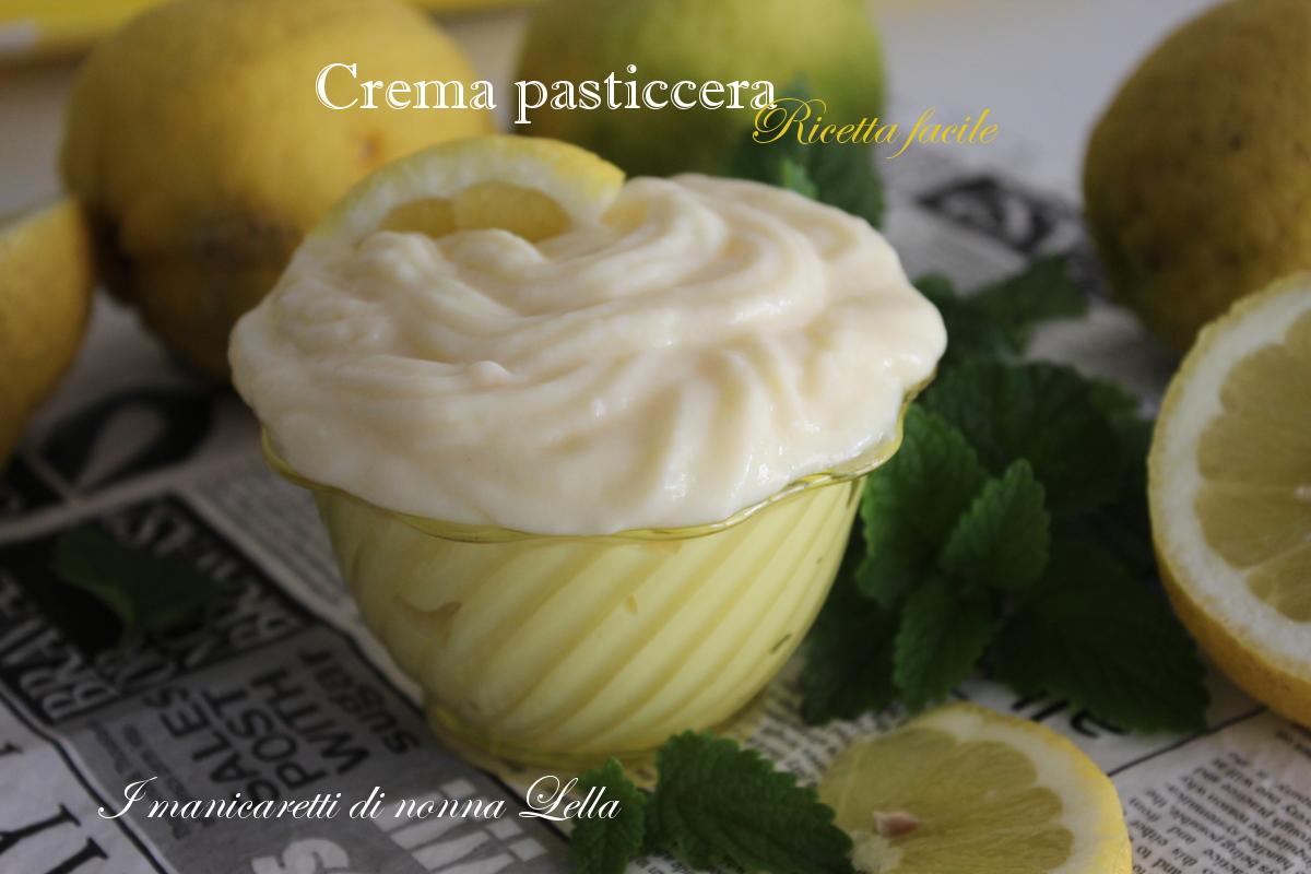 Crema pasticcera ricetta facile