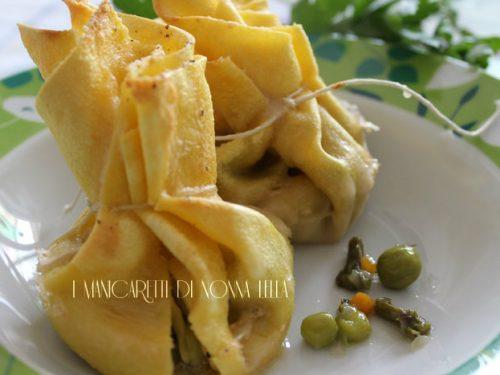 Fagottini primaverili (ricetta facile)