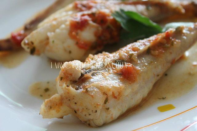 Code di rospo al pomodoro ricetta facile come cucinare le for Cucinare rana pescatrice