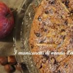 Torta di mele,nocciole e cioccolato