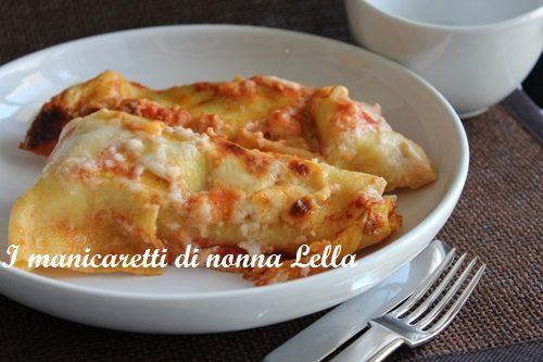 Lasagne farcite con spinaci