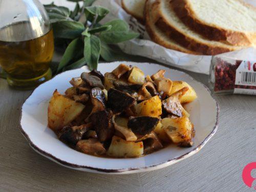 Cardoncelli e patate al forno
