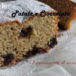 Plum cake  dolce con patate e cioccolato